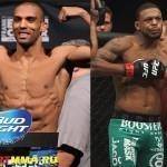 Эдсон Барбоза против Майкла Джонсона на UFC FN 61