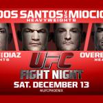 Результаты турнира UFC on FOX 13