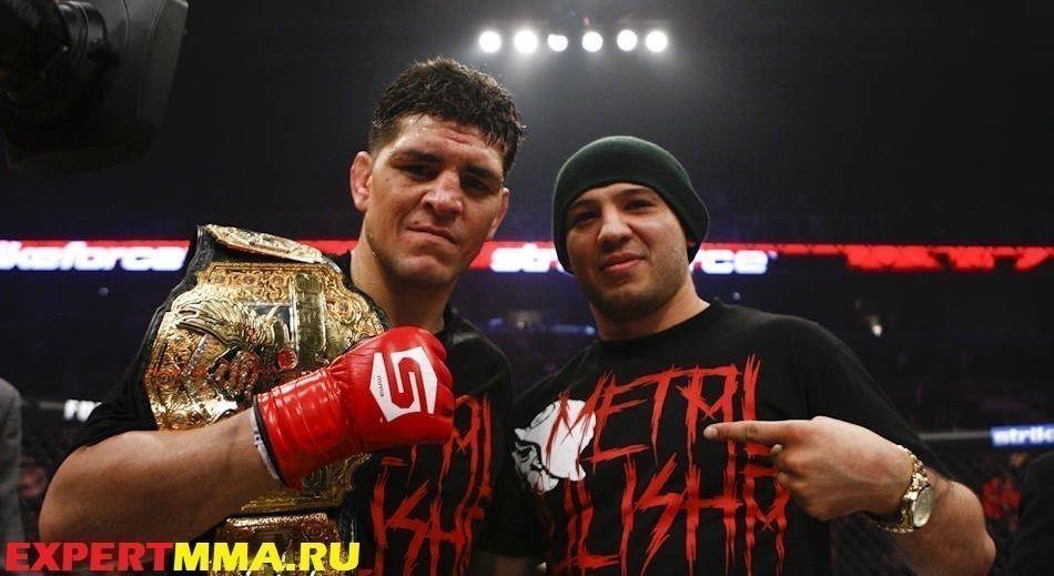 Nick Diaz and Gilbert Melendez