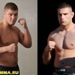 Денис Смолдарев и Маро Перак в мейн ивенте M-1 Challenge 55