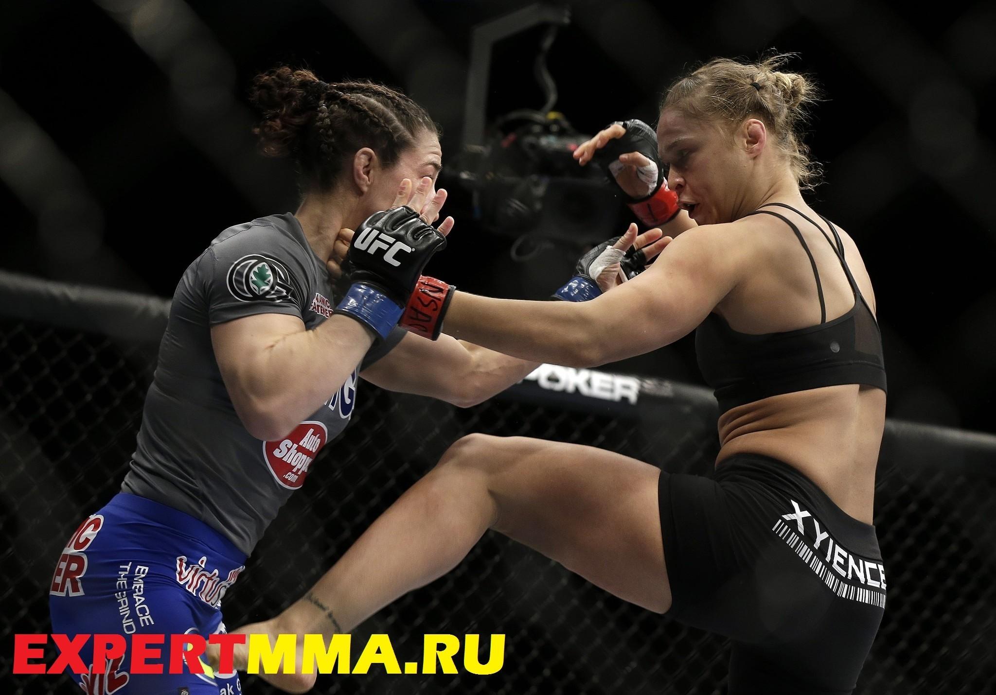 Ronda Rousey, Sara McMann