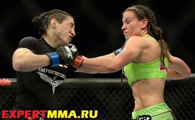 MMA: UFC 183-Tate vs McMann