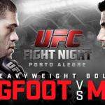 Результаты UFC Fight Night 61: Мир быстро разделался с «Бигфутом»