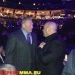 Дана Уайт: «Я рад, что Леснар подписал новый контракт с WWE»