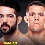 Мэтт Браун против Нэйта Диаза на UFC 189