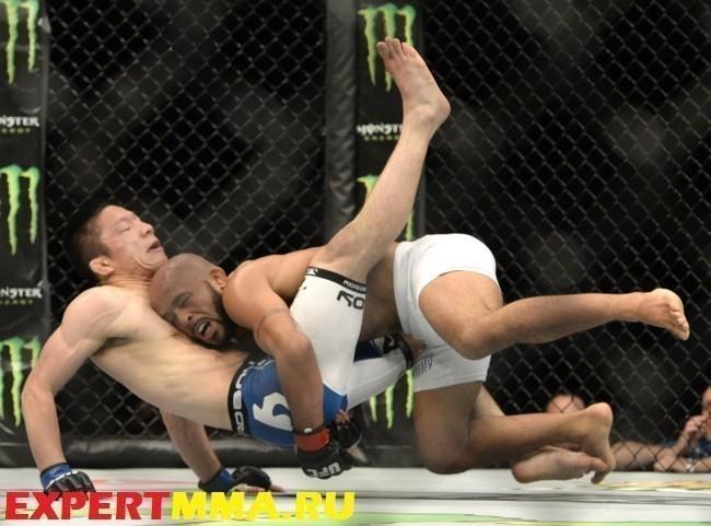 MMA: UFC 186-Johnson vs Horiguchi