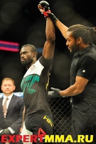 MMA: UFC Fight Night-Hall vs Bamgbose