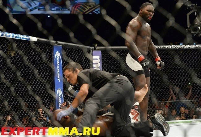MMA: UFC 191-Manuwa vs Johnson