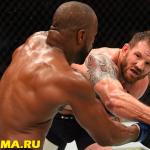 UFC 192: Райан Бэйдер победил Рашада Эванса