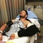 Майкл Биспинг перенёс операцию на локте