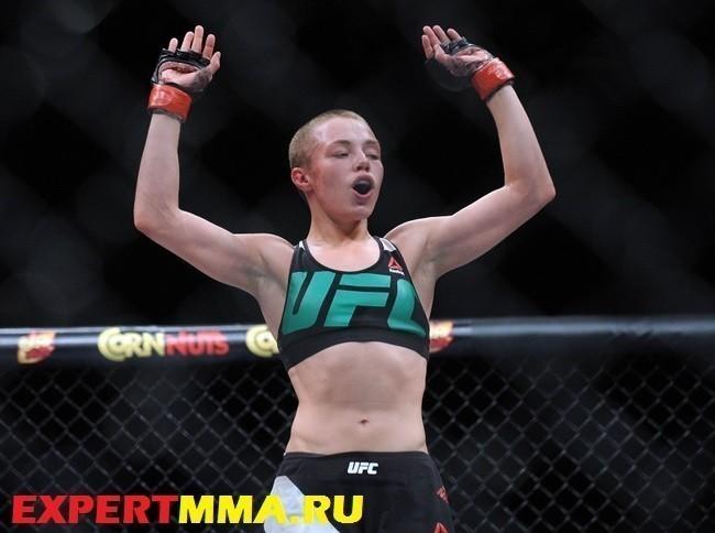 MMA: UFC Fight Night-VanZant vs Namajunas