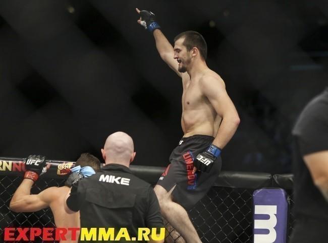 MMA: UFC 192-Jouban vs Tumenov