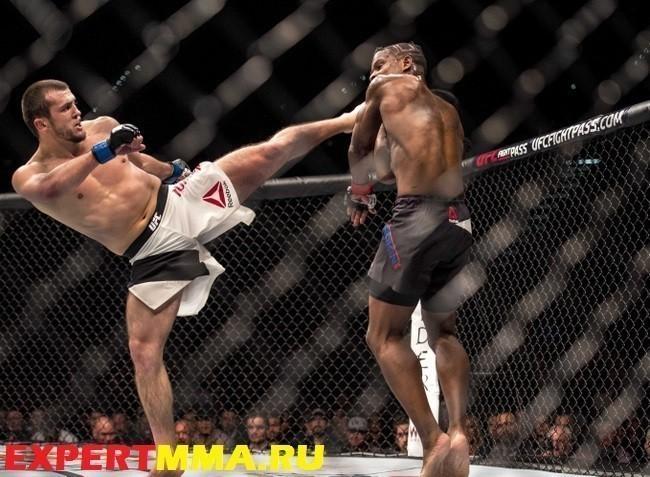 MMA: UFC 195-Larkin vs Tumenov