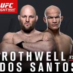 Джуниор Дос Сантос vs. Бен Ротвелл на UFC Fight Night 86