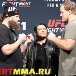 VIDEO UFC Fight Night 82: Roy Nelson vs. Jared Rosholt