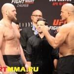 ВИДЕО БОЯ UFC Fight Night 86: Джуниор Дос Сантос vs. Бен Ротвелл