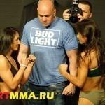 ВИДЕО БОЯ UFC 197: Карла Эспарза vs. Джулиана Лима