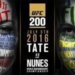 Миша Тейт против Аманды Нуньес на UFC 200