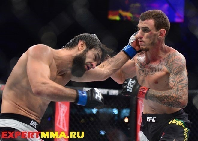 MMA: UFC Fight Night-Moicano vs Tukhugov