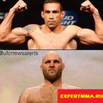 Вердум против Ротвелла на UFC 203