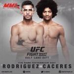 Яир Родригез и Алекс Казерес возглавят шоу UFC Fight Night 92