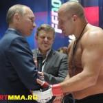 Путин не сможет посетить бой с участием Емельяненко