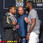 Официальное заявление от UFC об отмене главного боя UFC 200