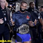 (ВИДЕО) UFC 201: Эмоции после победы Вудли