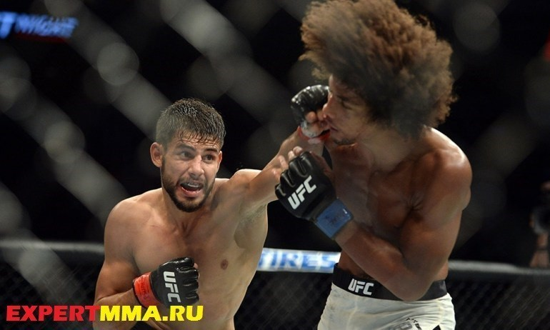 MMA: UFC Fight Night-Rodriguez vs Caceres