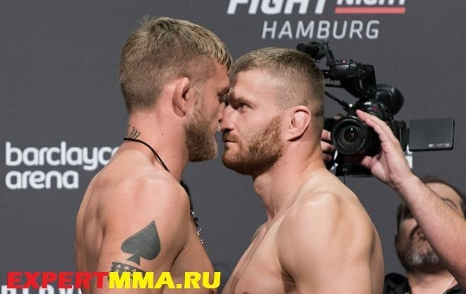 Alexander Gustafsson and Jan Blanchowicz