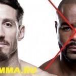 Рашад Эванс выбывает из UFC 205 по медицинским показателям