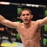 Бой Ислам Махачев – Ник Ленц на UFC 208