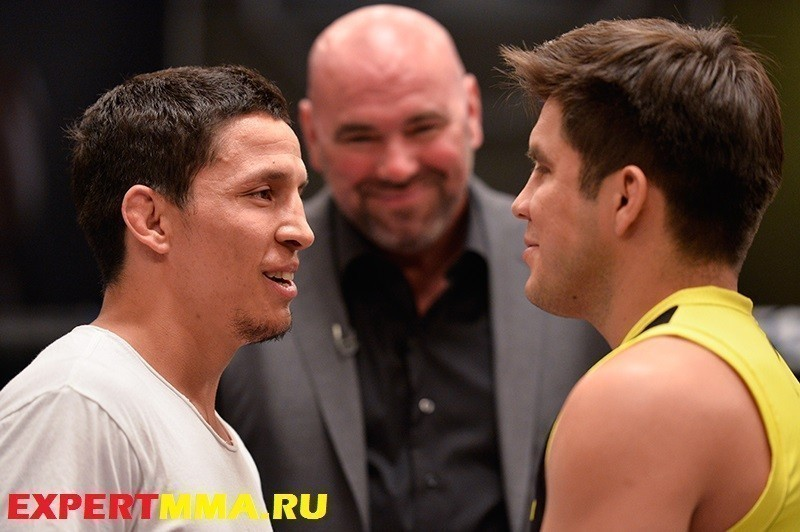 The Ultimate Fighter: Team Benavidez vs Team Cejudo