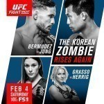 Результаты турнира UFC Fight Night 104: Bermudez vs. Korean Zombie