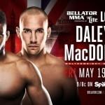Анонсирован турнир Bellator London: Рори Макдональд против Пола Дейли