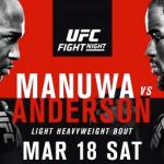 Прямая трансляция турнира UFC Fight Night 107: Андерсон vs. Манува