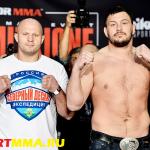 Федор Емельяненко и Мэтт Митрион проведут бой 24 июня