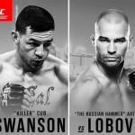 Каб Свонсон: Если бы не Макгрегор, Лобова, вероятно, не было бы в UFC