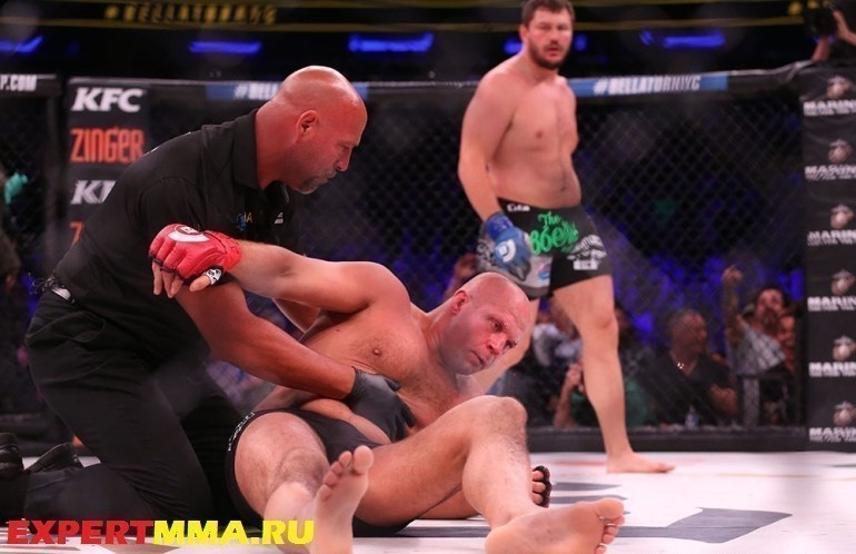 MMA: Bellator NYC-Emelianenko vs Mitrione