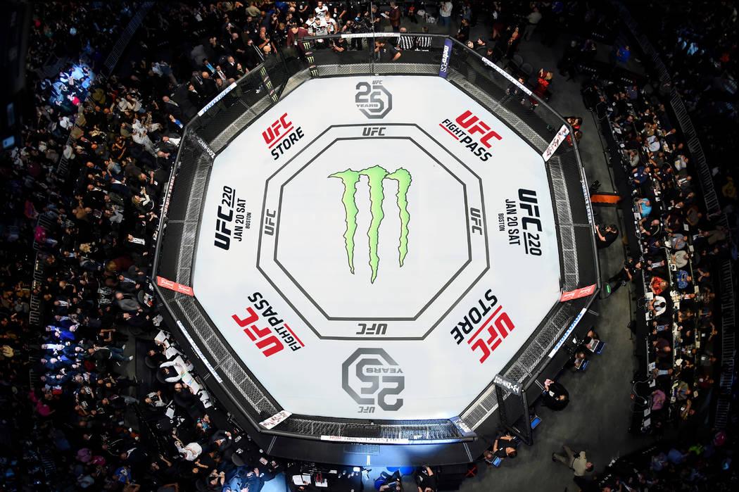 расписание UFC