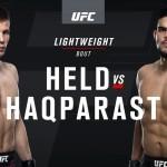 ВИДЕО БОЯ UFC Fight Night 118: Насрат Хакпараст vs. Марчин Хелд