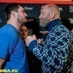 Взвешивание Bellator 215: Mitrione vs. Kharitonov (ВИДЕО)