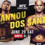 Результаты турнира UFC on ESPN 3: Фрэнсис Нганну - Джуниор Дос Сантос