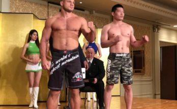 Иван Штырков финишировал корейца Хун Кима на Rizin 17