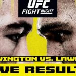 Результаты турнира UFC on ESPN 5: Колби Ковингтон - Робби Лоулер