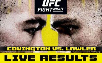 Результаты турнира UFC on ESPN 5: Колби Ковингтон — Робби Лоулер