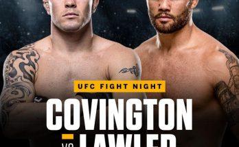 Прогноз на бой Колби Ковингтон — Робби Лоулер на UFC on ESPN 5