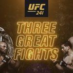 Результаты турнира UFC 241: Даниэль Кормье — Стипе Миочич 2, Энтони Петтис — Нейт Диас