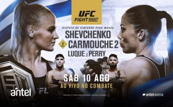 Результаты турнира UFC Fight Night 156: Валентина Шевченко — Лиз Кармуш