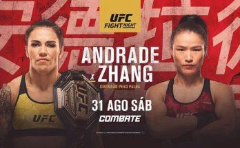 Результаты турнира UFC Fight Night 157: Джессика Андраде – Вейли Жанг